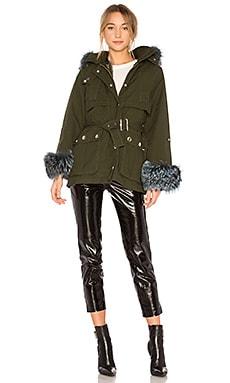 Swing Jacket With Rabbit Liner & Fox Trim jocelyn $628