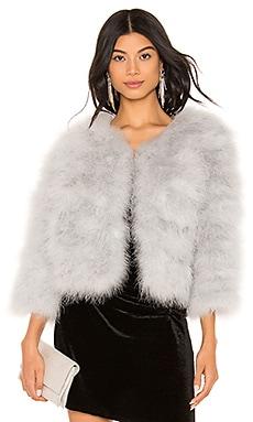 Feather Bolero Jacket jocelyn $155