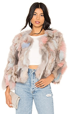 Fox Fur Jacket jocelyn $747