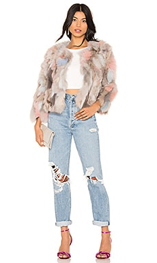 Jocelyn Fox Fur Jacket Coupon