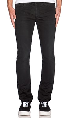 Joe's Jeans Slim Fit Rhett Color Pant in Jet Black
