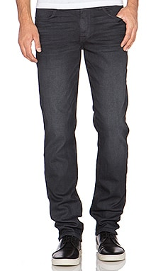 Joe's Jeans The Brixton Oil Slick in Dark Charcoal