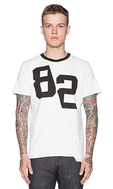 Joe's Jeans Solid Slub Jersey in White