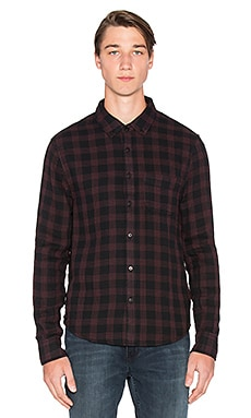 CHEMISE EN FLANELLE SLIM FIT SHIRT DOUBLE WOVEN PLAID