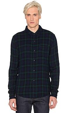Joe's Jeans Double Woven Plaid Shirt in Hunter Plaid