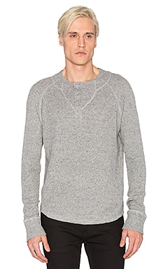 Joe's Jeans Waffle Sweater Knit in Heather Grey