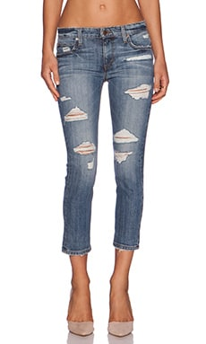 Joe's Jeans Boyfriend Slim Crop in Gessa