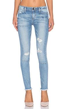 Joe's Jeans Finn Repaired Ankle Skinny in Yuki