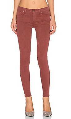 Joe's Jeans Cupro Colors Flawless The Vixen Ankle Skinny in Rosewood