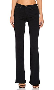 Joe's Jeans Regan Flawless The Charlie Flare in Black