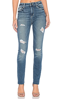 Joe's Jeans Payton Collector's Edition The Charlie Skinny in Medium & Light Green Distressed