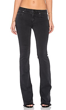 Joe's Jeans Malina Flawless The Icon Flare in Faded Black