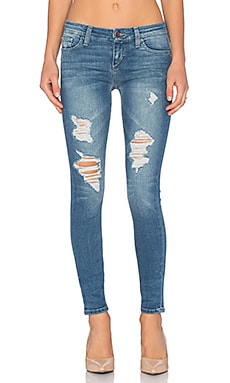 Joe's Jeans Perla #Hello The Vixen Ankle in Distressed Powder Blue