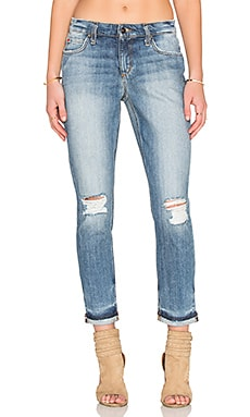 Joe's Jeans Blakely Collector's Edition The Billie Ankle in Light Blue Distressed