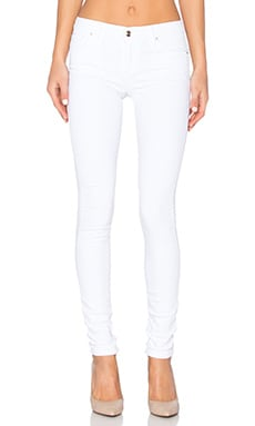 Marlie Play Dirty Stay Spotless The Vixen Skinny in Optic White
