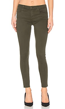 The Icon Ankle Skinny in Military Green