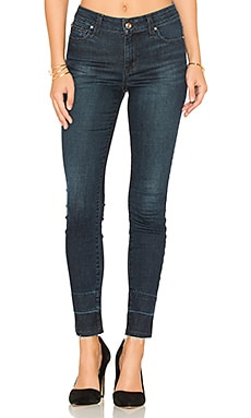 The Icon Ankle Skinny in Dark Blue