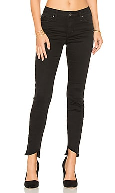 The Blondie Ankle Skinny in Faded Black