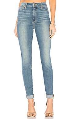 FLAWLESS The Charlie High Rise Skinny en Bleu clair