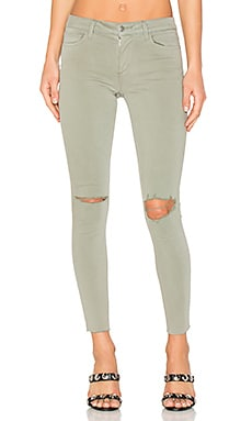 The Icon Ankle Skinny in Olive