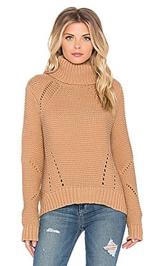 Akasha Sweater in Tan