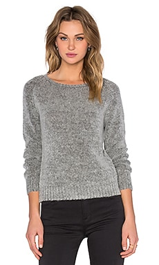 Joe's Jeans Loose Crop Sweater in Heather Grey