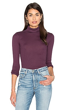 Gayle Turtleneck Sweater en Grenat
