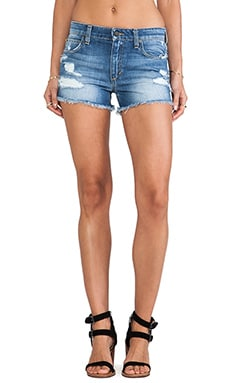 Joe's Jeans High Rise Cut Off Short in Zuni