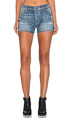 SHORTS DENIM WASTELAND