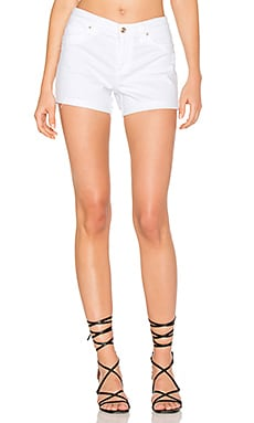Cuffed Short in Optic White