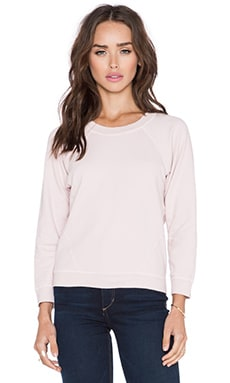 Joe's Jeans Off Duty Drea Sweatshirt in Porcelain