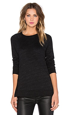 Joe's Jeans Basha Sweatshirt in Black