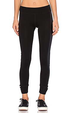 Joe's Jeans Off Duty Gleam Legging in Jet Black