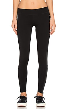 Off Duty Radiant Legging in Jet Black