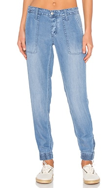 Joe's Jeans Flight Zip Ankle in Medium Blue