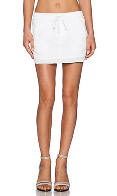Joe's Jeans Dance Jogger Skirt in Optic White