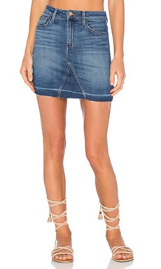Joe's Jeans Charlie Skirt in Medium Blue
