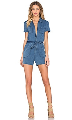 Joe's Jeans Soleded Romper in Light Blue