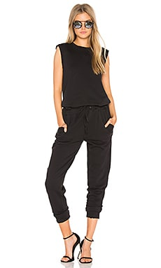 Marine Jumpsuit in Black