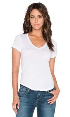Joe's Jeans Off Duty Reyna Tee in White