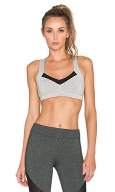 Off Duty Anastacia Sports Tank in Heather Grey & Black