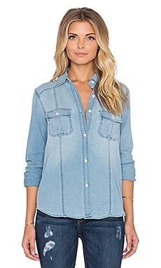 Joe's Jeans Leigh Button Up in Light Wash