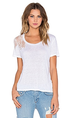 Joe's Jeans Empress Tee in White
