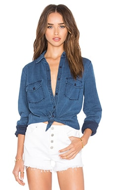 Joe's Jeans Brisa Denim Button Up in Light Wash
