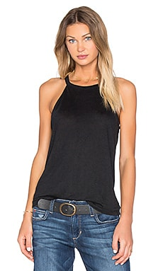 Joe's Jeans Vannie Halter Tank in Black