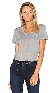 Joe's Jeans Paulette Tee in Heather Grey