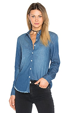 Mila Denim Shirt in Medium Stonewash