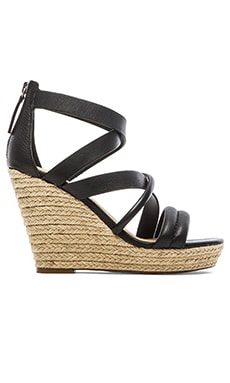 Joe's Jeans Robina Wedge in Black