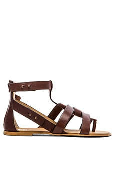 Joe's Jeans Ranger Sandal in Red Brown
