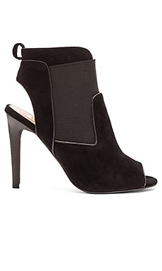 Joe's Jeans Dare Heel in Black & Black